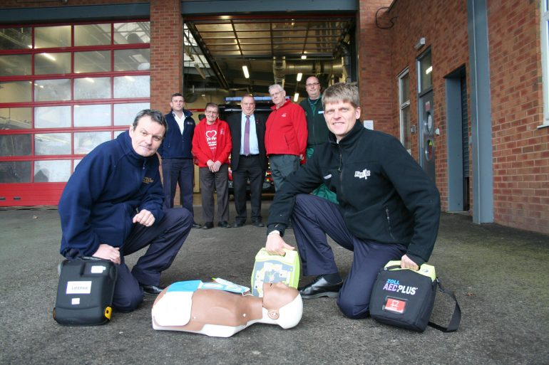 Defibrillators -fire service