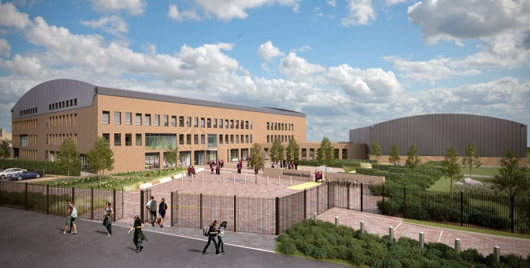 New Archbishop Beck Sports College Takes Shape Liverpool