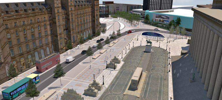 New look St George's Plateau - Lime Street