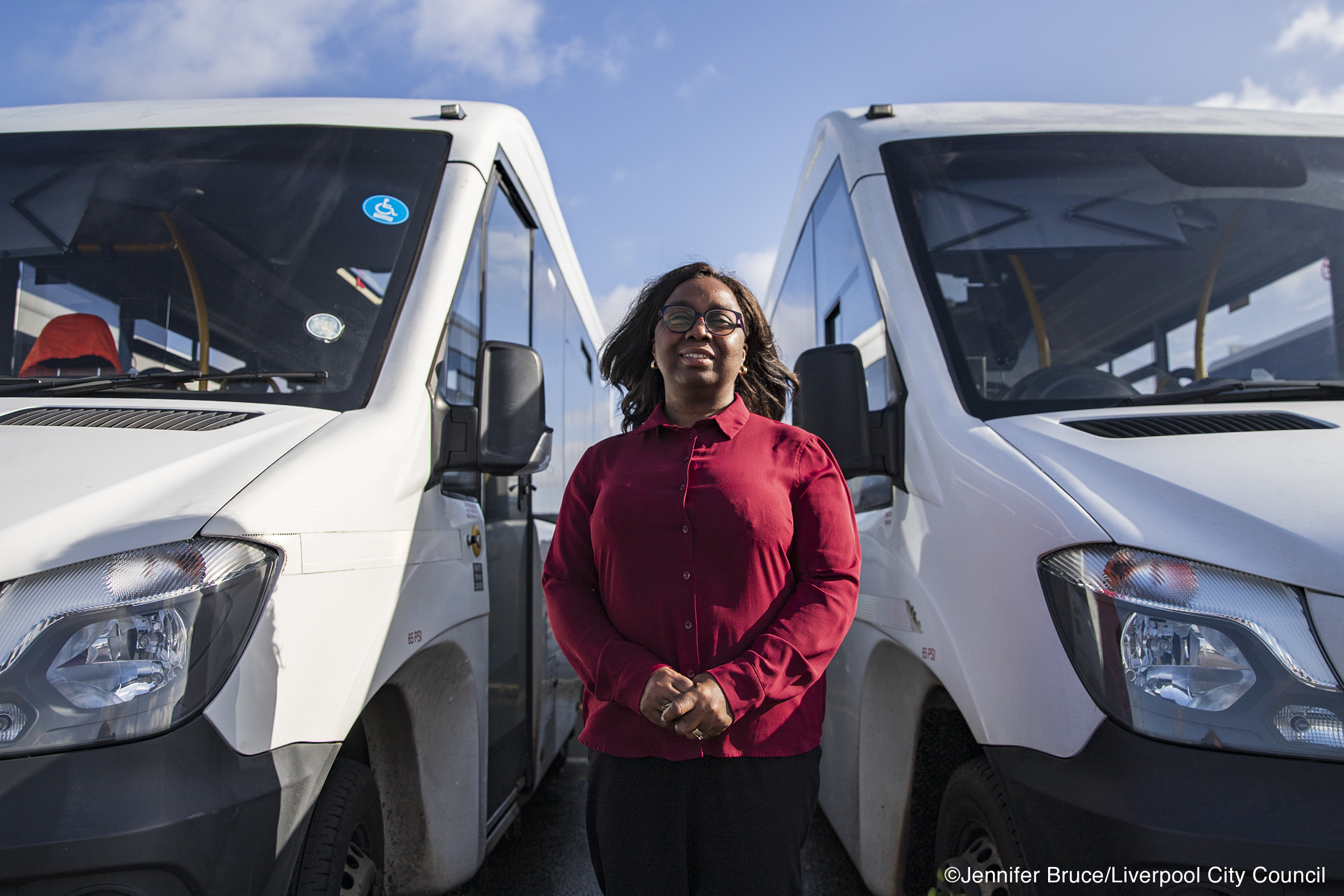 Paula Herbert a Senior Transport Manager