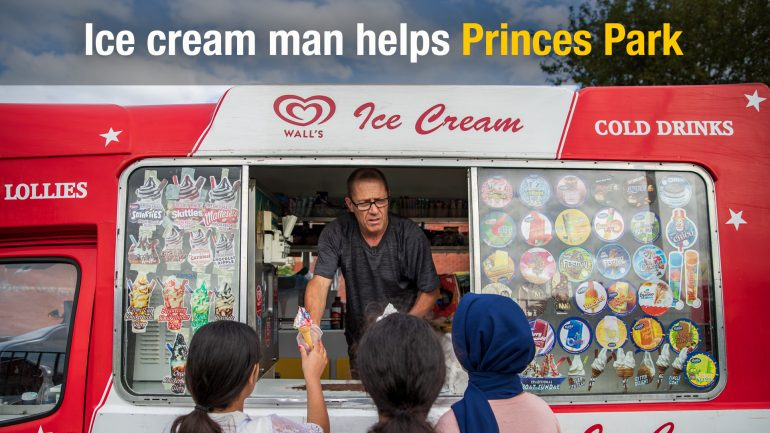 Ice Cream Man Paul
