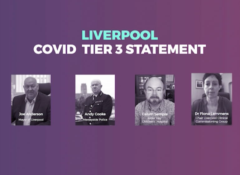 Covid tier 3 statement