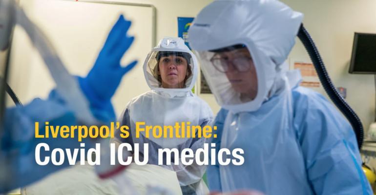 Covid ICU medics