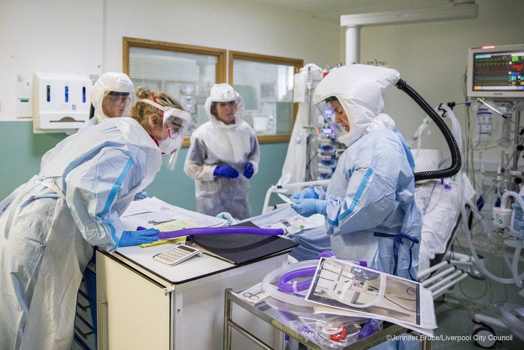 Inside an ICU