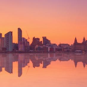 Liverpool Skyline - Dusk