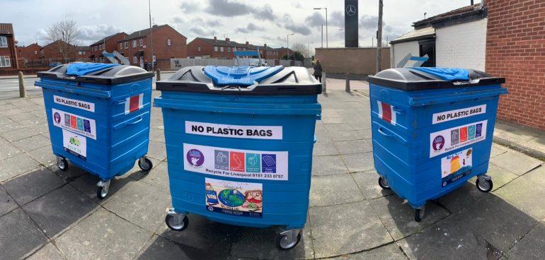Communal Recycling Bin