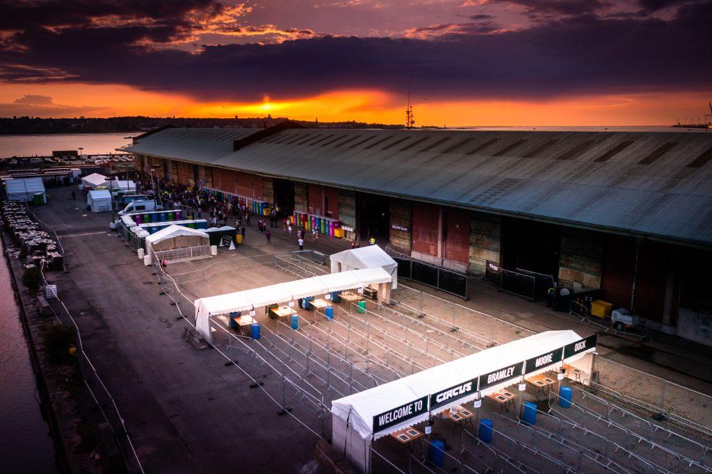 Sunset Bramley Moore Dock